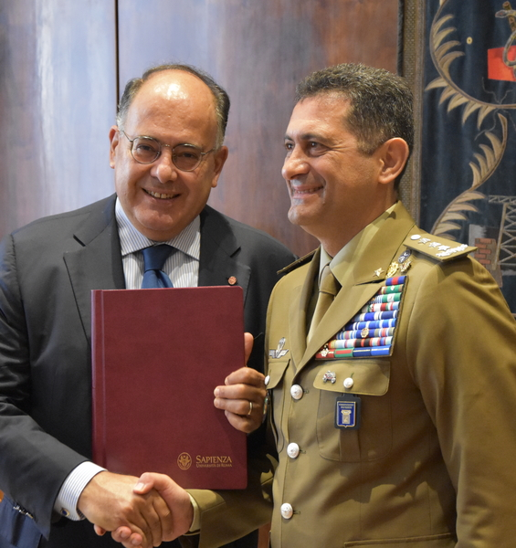 Sapienza University and the Italian Army Logistics Command Sign Agreement