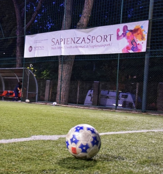 Score your goal with Sapienza! Join our soccer teams in the Via Osoppo sports facility