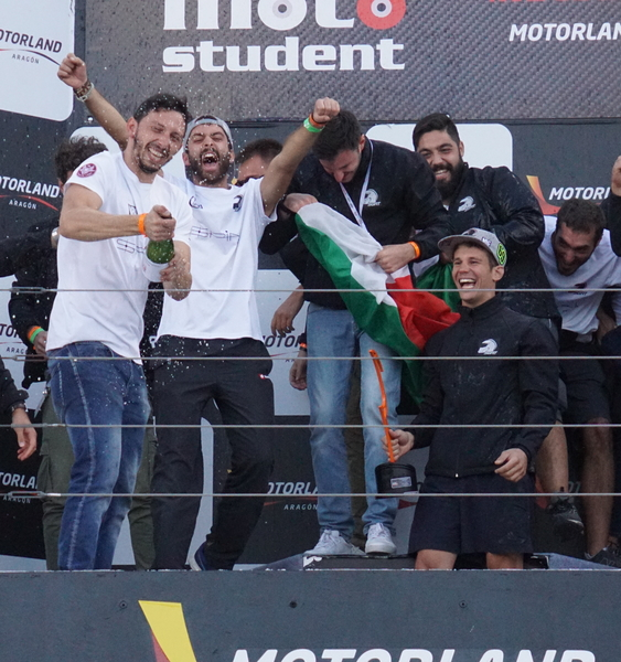 Sapienza's Gladiators: Best Rookie Team in MotoStudent 2018