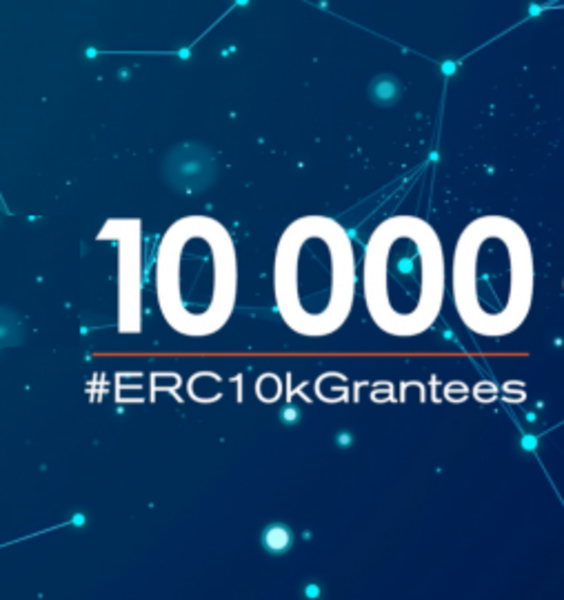 #ERC 10k Grantees: European Research Council celebrates 10,000 research awards (May 6, 2021)