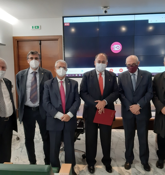 Sapienza signs the agreement with the Association of Surgeons and Dentists Omceo and UnitelmaSapienza to train healthcare professionals