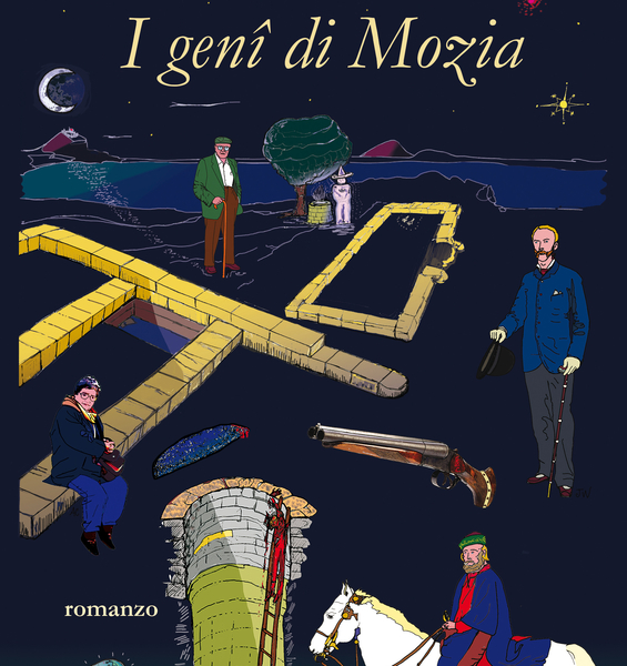 I genî di Mozia, an archaeological thriller on the Phoenician island