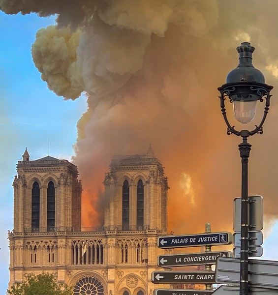 La Sapienza Shares the Pain of the Burning of Notre Dame