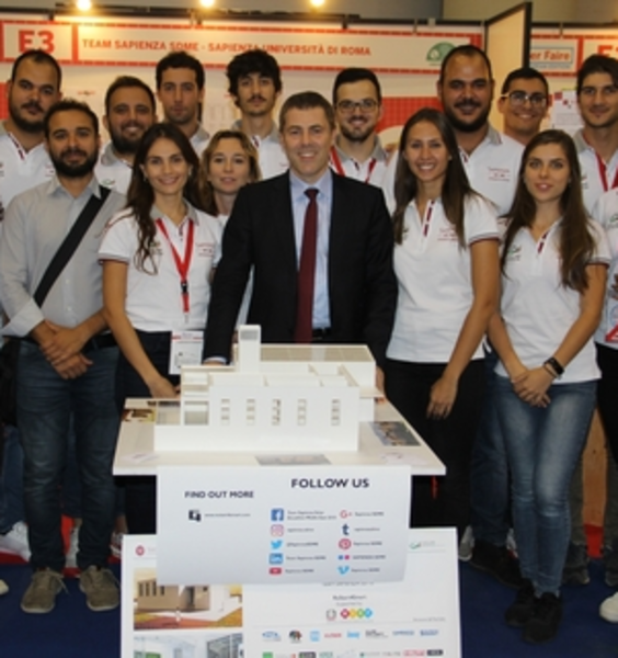 Sapienza ReStart4Smart Team amongst Italian top-100 in the Future of Construction Work