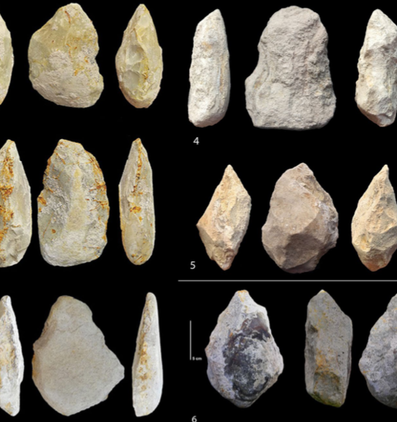 The most ancient European Acheulean stone artefacts were discovered in Notarchirico, Basilicata, Southern Italy. The discovery moves the origin of the technique to 700 thousand years ago