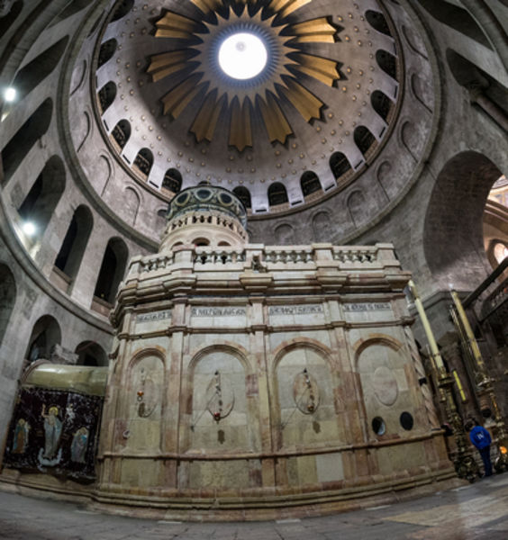 Sapienza to Supervise Restoration of the Church of the Holy Sepulchre