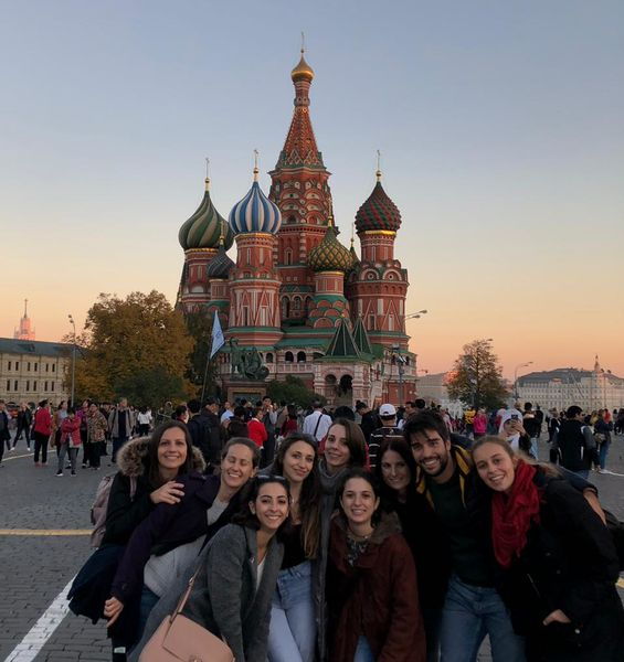 Ten Medicine Students at the Sechenov University in Moscow