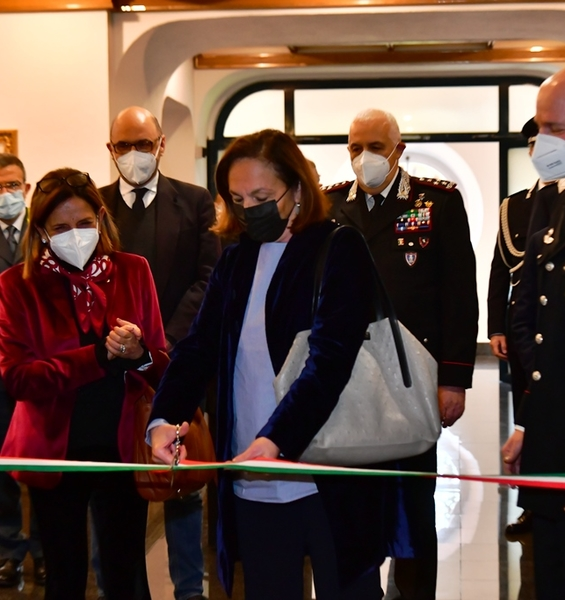 Rectress Polimeni inaugurated the new academic year of the Italian School of Advanced Training for Police Forces